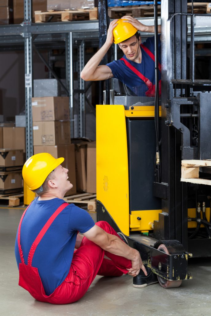 When Forklifts Attack Safety Concerns In Dodgy Forklift